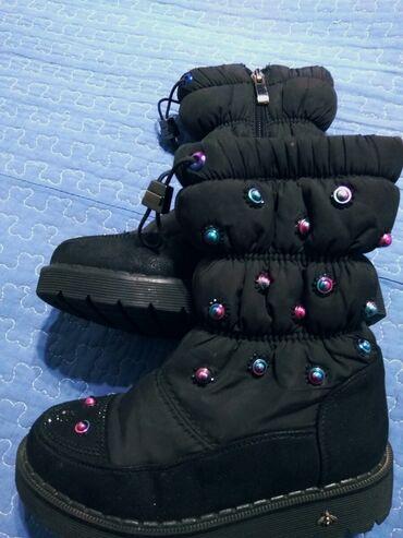 Тёплые сапожки, размер 29. Зимние. Забрать в 4 микрорайоне