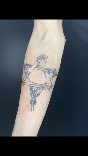 Создание эскиза, Цветные татуировки, Черно-белые татуировки | Консультация