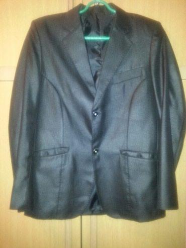 Новый пиджак разм. 44-46 черного цвета(реальным покупателям уступлю) в Бишкек