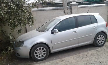 volkswagen golf 2 в Кыргызстан: Volkswagen Golf V 2007