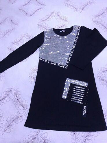 тунику платье в Кыргызстан: Продаю турецкую тунику-платье. Возраст 10-11, производство Турция
