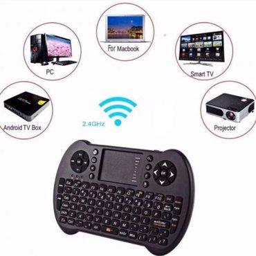 Bakı şəhərində Wireless bluetooth klaviatura ve air maus. Batareya ile isleyir. Blutu