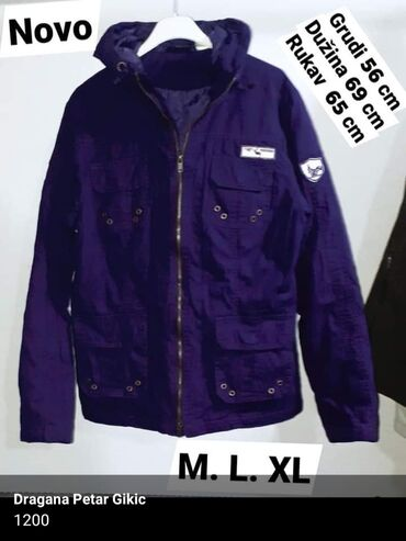 Nova Zimska jakna m. L. Xl  Kvalitetna