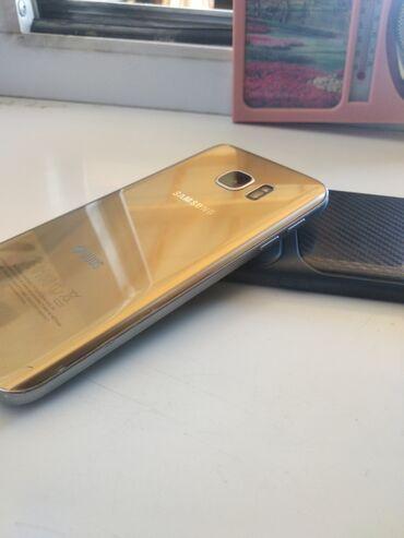 Samsung s 7 - Кыргызстан: Б/у Samsung Galaxy S7 32 ГБ Золотой