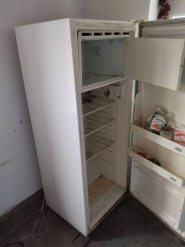 Электроника - Новопавловка: На запчасти Однокамерный   Белый холодильник Cinar