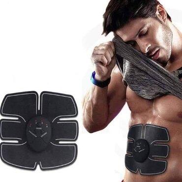 Elektro-stimulator mišića  Izvanredna pomoć za jačanje trbušnih i osta