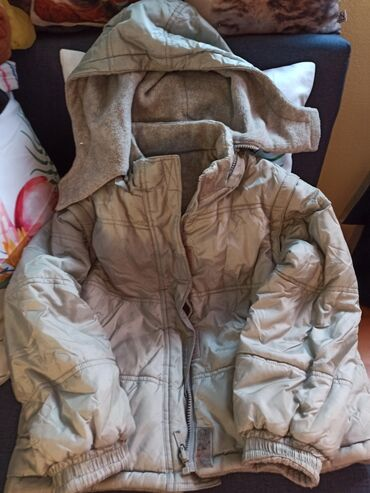Ski jakne - Srbija: Jakna za dečake sa dva lica.Kapuljaca se skida. kao i rukavi pa može