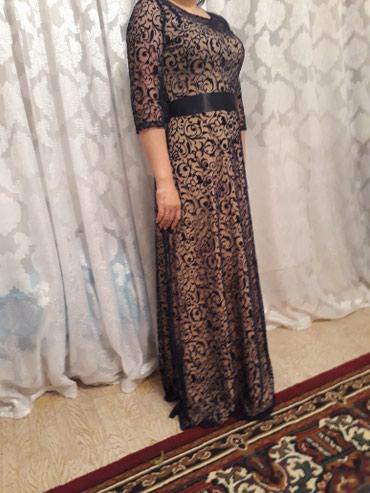 шикарное вечерние платье в Кыргызстан: Шикарная платье одето на один вечер. брала за 1500с . Просто очень по