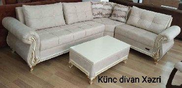 Ev və bağ Zabratda: Xəzri künc divan + pufik 1037 azn (1 kartla 18 ay İlkin ödənişsiz və