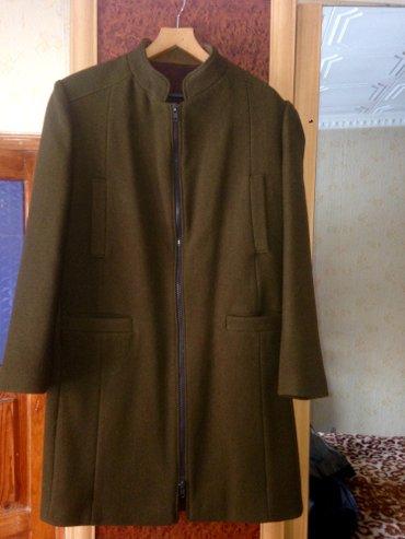 """продаю новое мужское пальто,""""моя""""дипломная работа""""эксклюзивное в единс в Бишкек"""