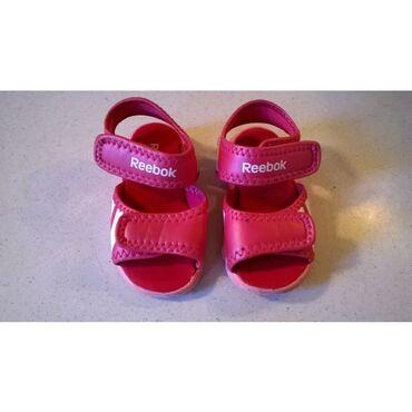 Παιδικά σανδάλια Reebok - Ροζ - Νο.21Τα σανδάλια είναι μεταχειρισμένα