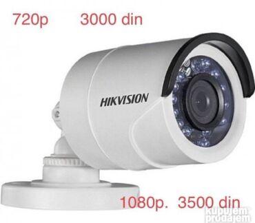 Videokameri | Srbija: Rezolucija:  FULL HD 720p i 1080p  * fiksni objektiv 3.6mm,  * dan/