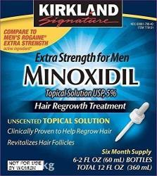 Kirkland 5% minoxidil средство для восстановления волос. Киркланд в Бишкек