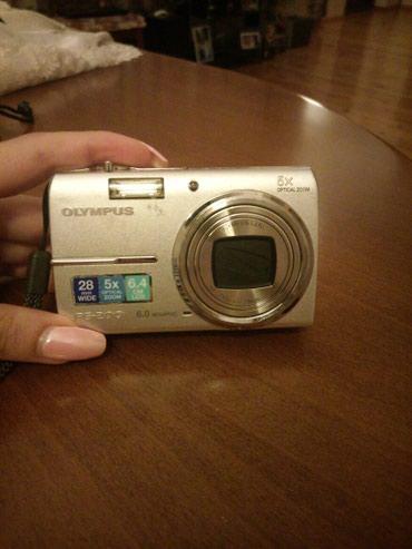 Bakı şəhərində Fotokamera Olimpus FE-200. Ela vaziyyatda. adapteri. Usb kabel,