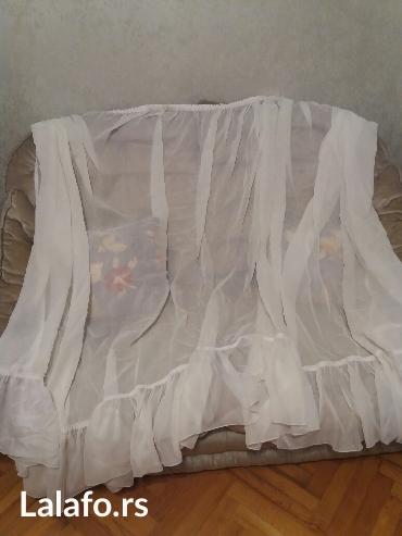 Duzina rukavispod - Srbija: Zavesa sirina 1,80m,duzina krajeva 1,70m, duzina sredine zavese 1,40m