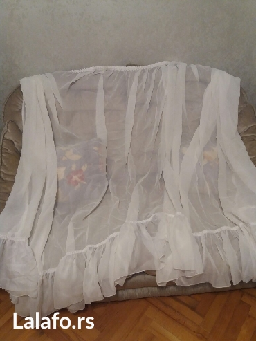 Zavesa sirina 1,80m,duzina krajeva 1,70m, duzina sredine zavese 1,40m - Sombor