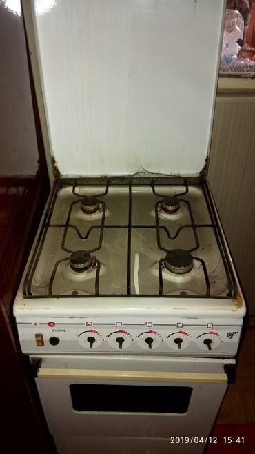 """Продам газ плиту"""" Кубань""""в отличном состоянии,с электроподжигом. в Кок-Ой"""