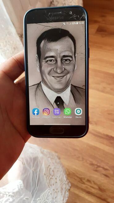 J5 2017 ekranin qiymeti - Azərbaycan: İşlənmiş Samsung Galaxy A5 2017 32 GB qəhvəyi