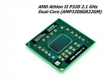 AMD Athlon II P320 noutbuk üçün prosessor  AMP320SGR22GM