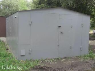 Сдаю металический гараж в Нижнем Джале в охраняемой територие в Бишкек