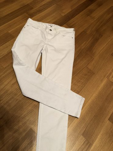 Bakı şəhərində MANGO белые джинсы, 38 разм , в отличном состоянии