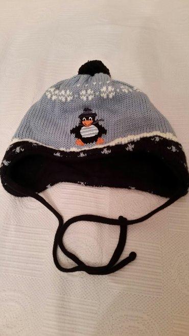 детские шапки до года. теплые. Первая с пингвином-б/у-фирменная maximo в Бишкек