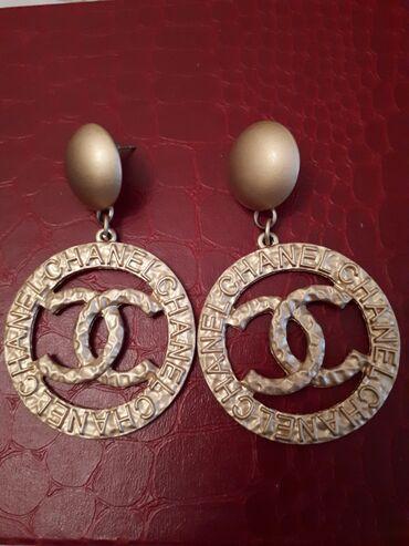 """Нарядные серьги """" Chanel &Zara"""" Collection"""" стоил 400 сом"""