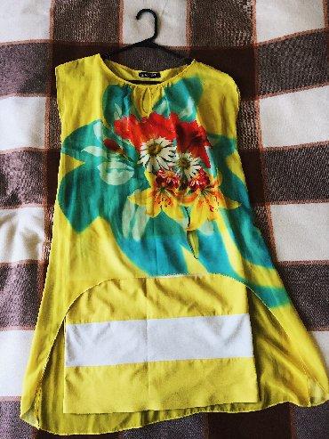 платье из шифона в Кыргызстан: Платье со шлейфом-накидкой из шифона Надевалось 1 раз