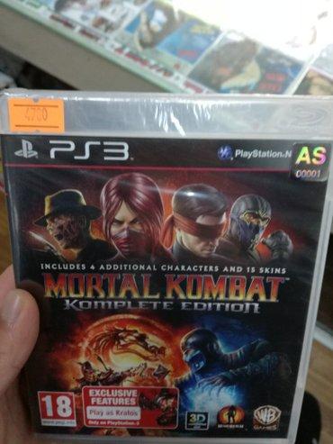 Bakı şəhərində PlayStation 3 Mortal kombat