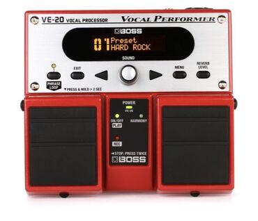 Audio - Azərbaycan: Boss VE-20 Vocal Processor (Pedal)  Vokalistler için Önemli bir Pedal