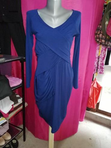 Haljina velicina S, ima elastina materijal mokra likra, prelepa kao - Vrnjacka Banja