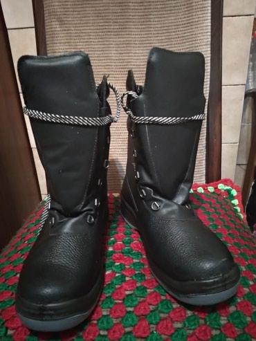Рабочие ботинки (спец обувь) с металлической накладкой на носке в Бишкек