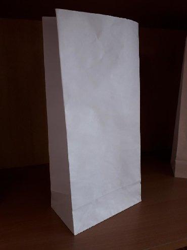 бумажные пакеты в Кыргызстан: Бумажные пакеты 34х16х9 см