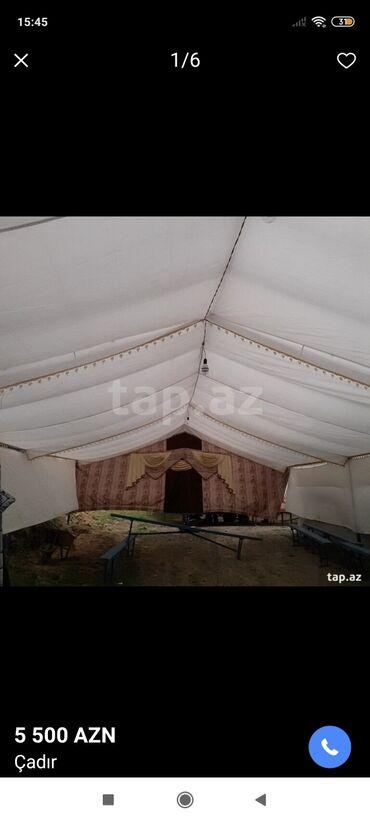 İdman və istirahət Lənkəranda: 16 metre uzunlugu 6 metr 30 şanti eni Çadır satılır çadırın her şeyi