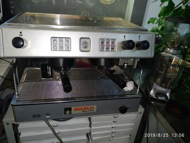 rioba кофемашина в Кыргызстан: Продается кофемашина Brasilia с кофемолкой Mazzer кофемашина, кофемолк