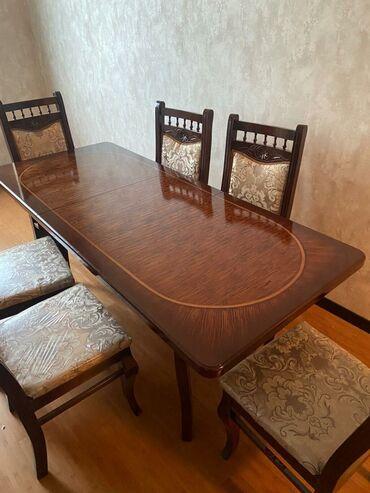 belarus 80 - Azərbaycan: Masa dəstiYüksək keyfiyyətli.Masanın ölçüləri eni 80 sm bağlı halda