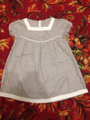 Легкое летнее платье на девочку 3-4 года в отличном состоянии в Бишкек