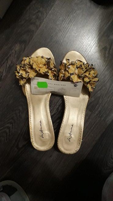 Женские босоножки кожаные.Размер 39. в Бишкек