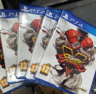 Bakı şəhərində Street fighter 5 oyunu PlayStation 4 üçün