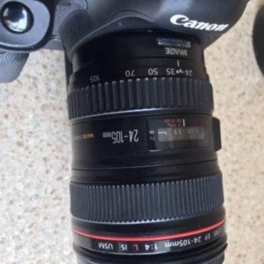 Canon EOS 5D Mark III +24-105 obyektiv+3 batereyka+ 2 dene 32 g kart в Qusar