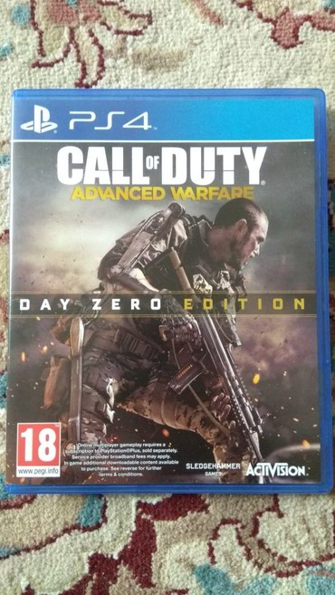 Bakı şəhərində Call of Duty Advanced Warfare для PS4.