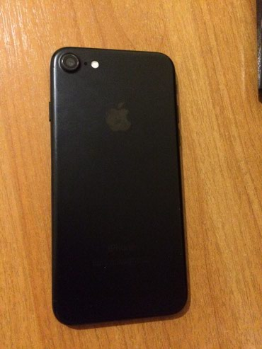 Iphone 7 black 128 Gb в Бишкек