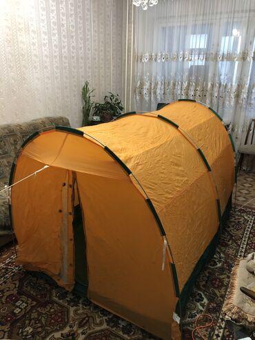 Палатка б.у как новая не разу не пользовались