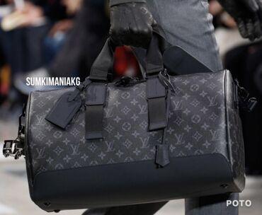 сумка в Кыргызстан: Дорожные LV люкс,с кожаными вставками