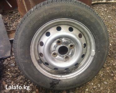 Продаю диски с резиной от автомашины в Бишкек
