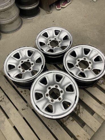 Срочно железные диски Тойота размер 16 ширина 7 вылет цо 106.1  Разбол