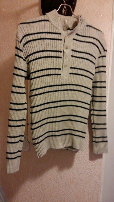 Мужской свитер. трикотажный теплый. Размер 48.XL в Бишкек