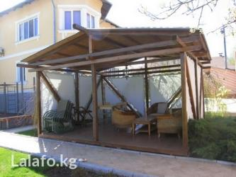 сауны , бани, беседки, комнаты отдыха. под ключ. по финской в Бишкек