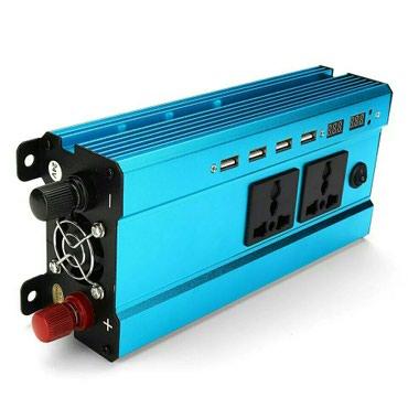Bakı şəhərində 24 V enerjini 220 V enerjiye ceviren invertor