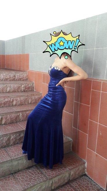 Бархатное платье, очень красивое в Бишкек